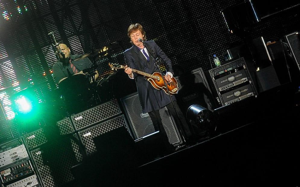 Paul McCartney zapowiada trasę koncertową