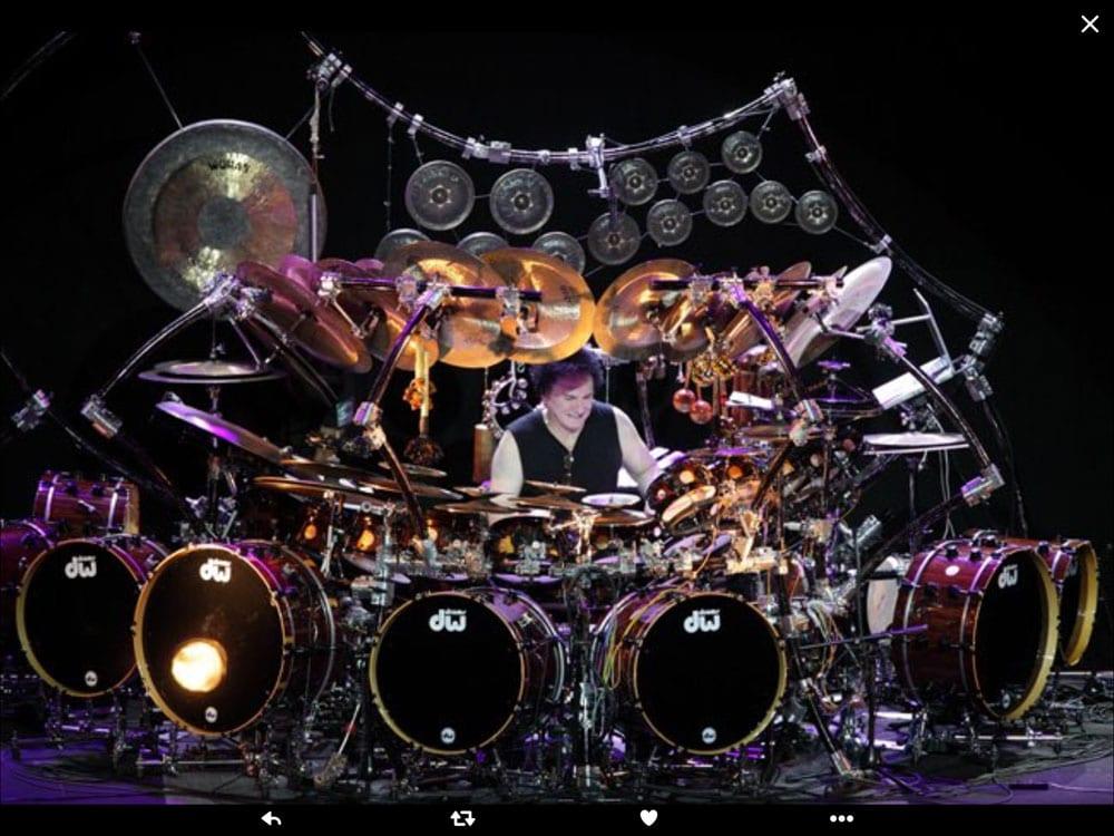 Drums Fusion na półmetku
