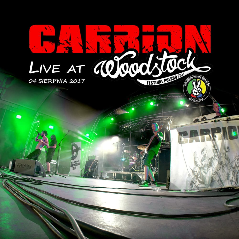 "Koncertowy album Carrion – ""Live At Woodstock 2017"""