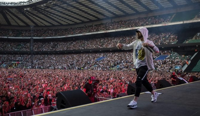 Eminem pobił wynik Beatlesów, ale nie jest samodzielnym liderem
