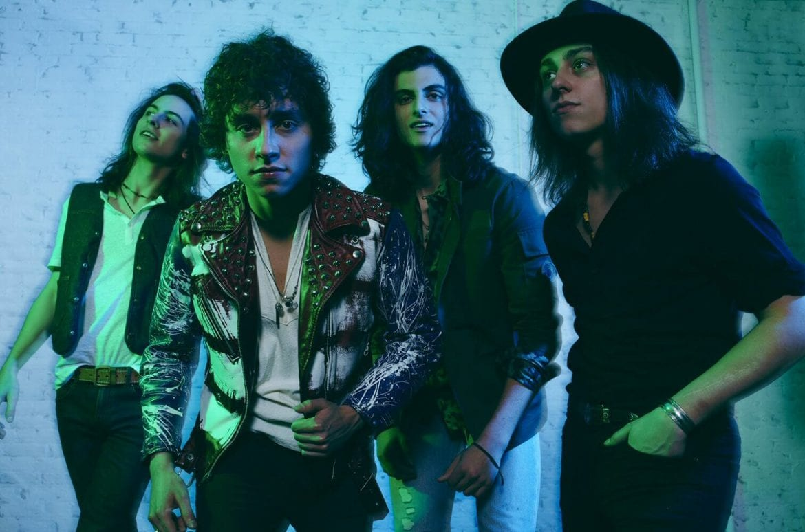 "Greta Van Fleet przedstawia ""When The Curtain Falls"""