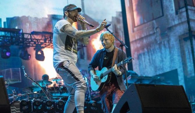 Eminem, Cardi B, Travis Scott i inni gośćmi Eda Sheerana