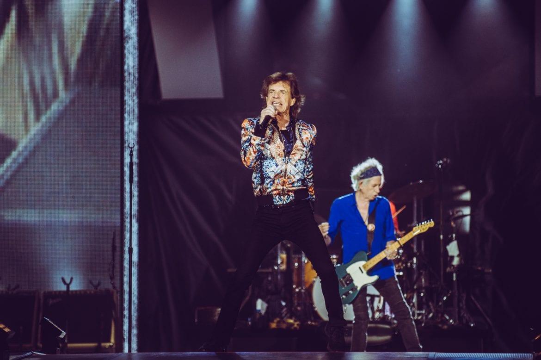 Muzycy, dziennikarze i politycy na koncercie Stonesów