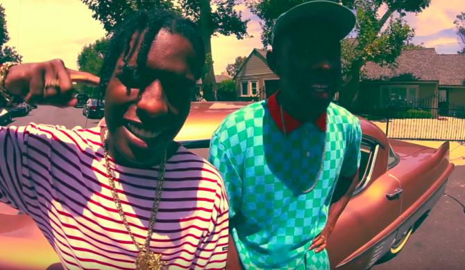 A$AP Rocky i Tyler The Creator rapują pod Wieżą Eiffla