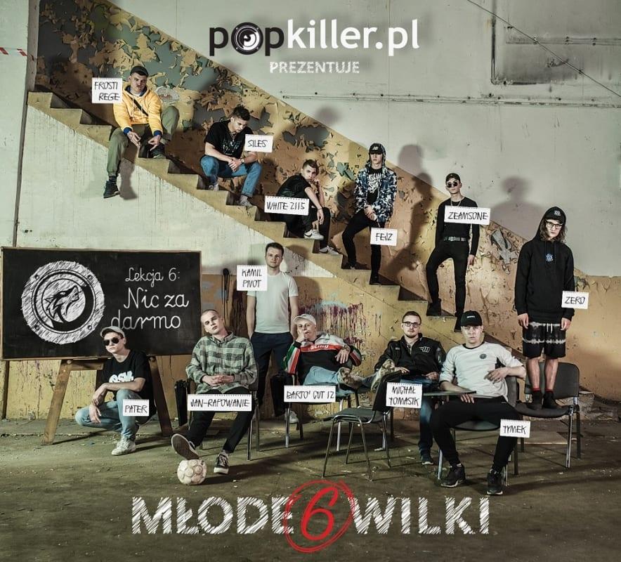 """Różni wykonawcy – """"Popkiller Młode Wilki 6"""""""
