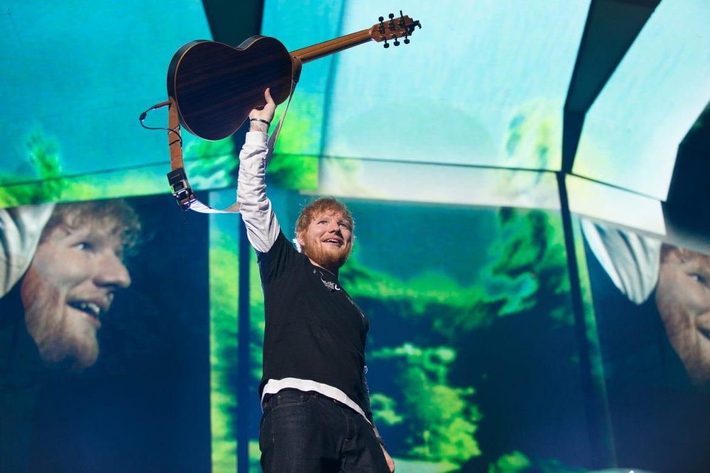 Ed Sheeran wyprzedził Drake'a i zarobił miliony na Spotify