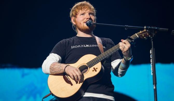 Jakie wymagania ma Ed Sheeran?
