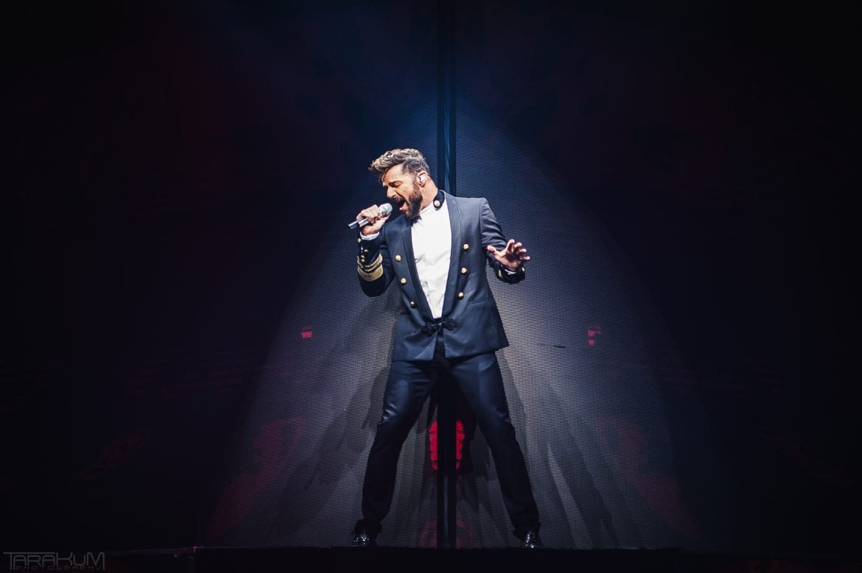 Ricky Martin wystąpił w Ergo Arenie – zobacz zdjęcia