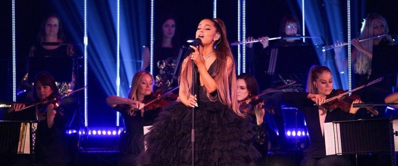Ariana Grande wystąpiła z orkiestrą