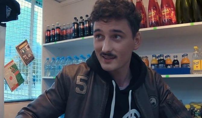 Dawid Podsiadło kioskarzem (wideo)