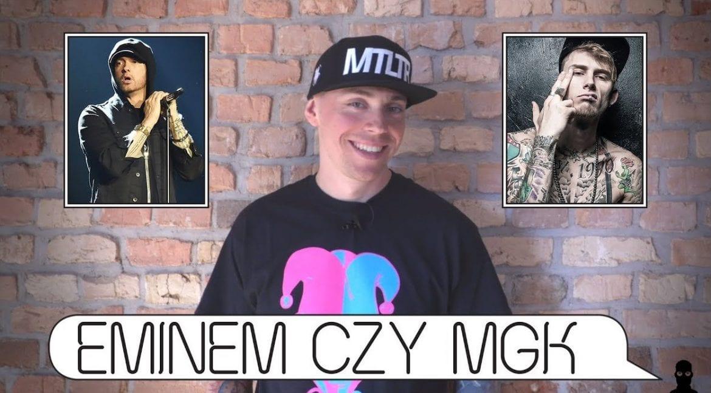 Eminem czy Machine Gun Kelly? Słoń wybiera