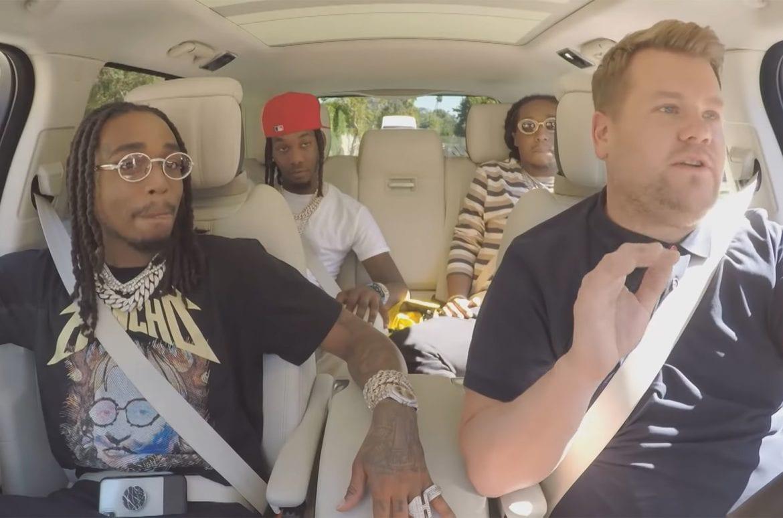 Migos w nowym odcinku Carpool Karaoke