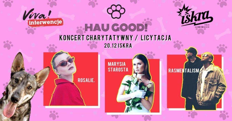 Marysia Starosta, Rosalie. oraz Rasmentalism charytatywnie w Warszawie