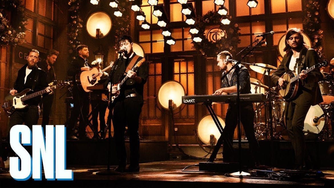 Mumford & Sons wystąpili w Saturday Night Live