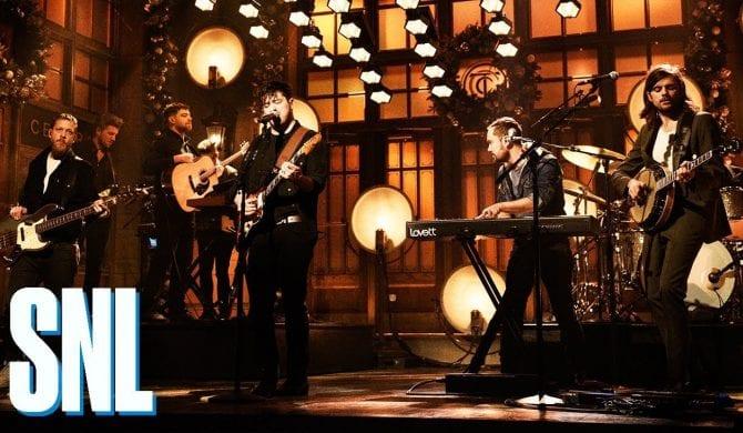 Mumford & Sons wystąpili w Saturday Night Live