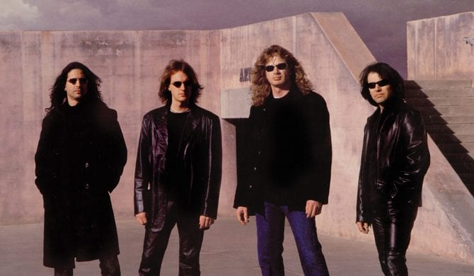 Megadeth wznawia płyty z początku wieku
