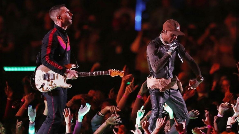 Maroon 5, Big Boi i Travis Scott – zobacz występ z Super Bowl
