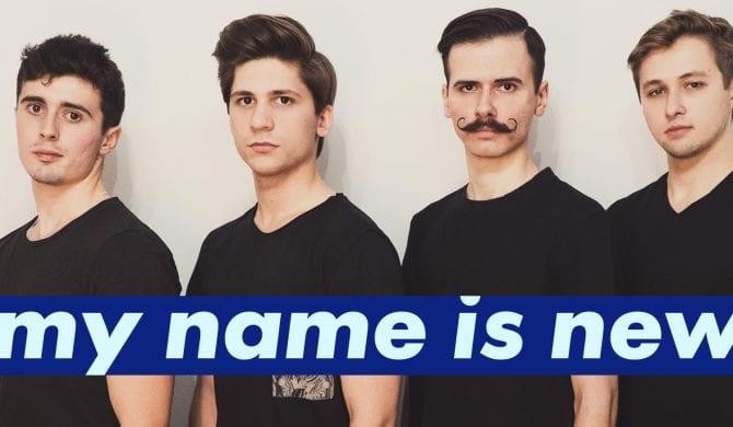 Zmiana warty – Blunt Razor nowym ambasadorem My Name Is New