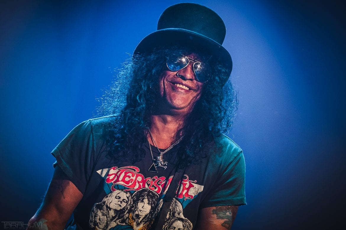 Slash featuring Myles Kennedy & The Conspirators wystąpili w Łodzi