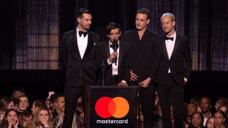 BRIT Awards rozdane. Podwójna radość The 1975