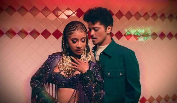 Cardi B i Bruno Mars w klipie do wspólnej piosenki