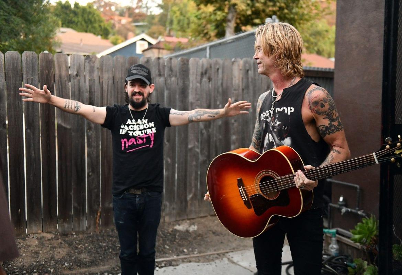 Duff McKagan na koncercie w Polsce