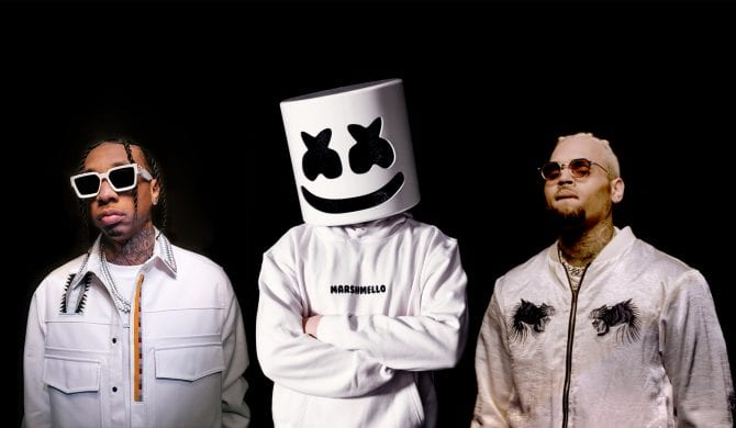 Marshmello, Tyga i Chris Brown  we wspólnym singlu