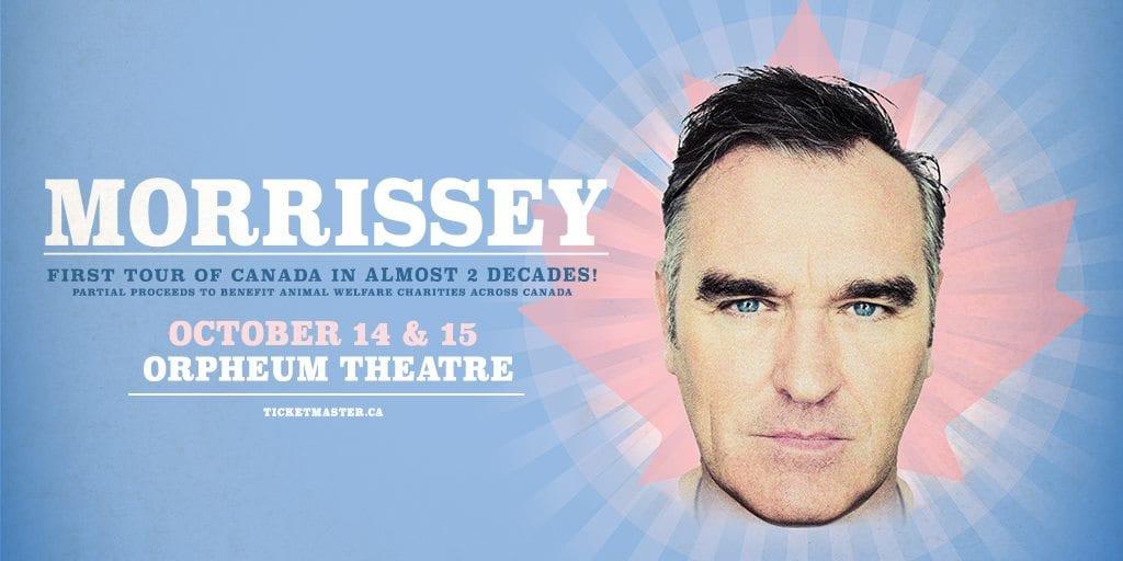 Morrissey odwołuje koncerty z powodu wypadku w Europie
