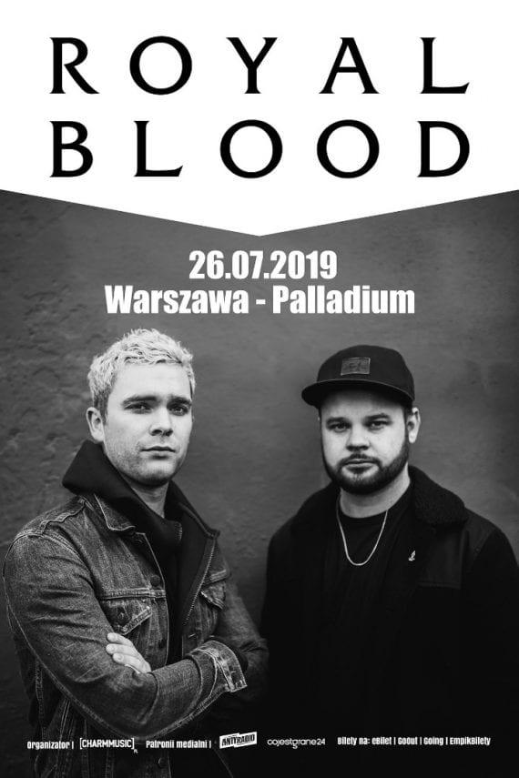 Royal Blood Warszawa plakat