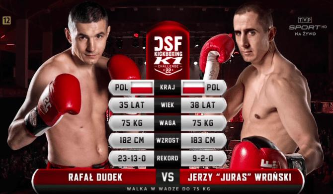 DSF 22 – Juras vs Dudek: Sędzia przerwał walkę