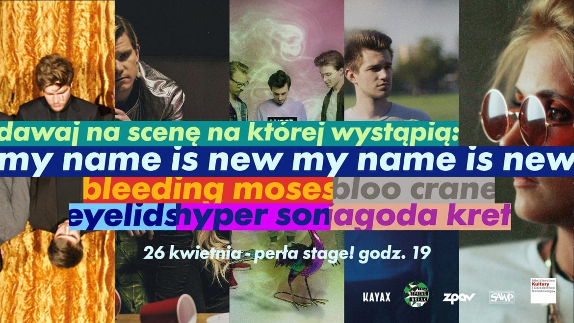 Cho na showcase projektu My Name Is News podczas Enea Spring Break
