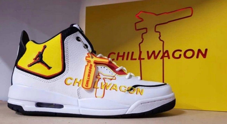 Kosmiczna suma za buty Chillwagonu