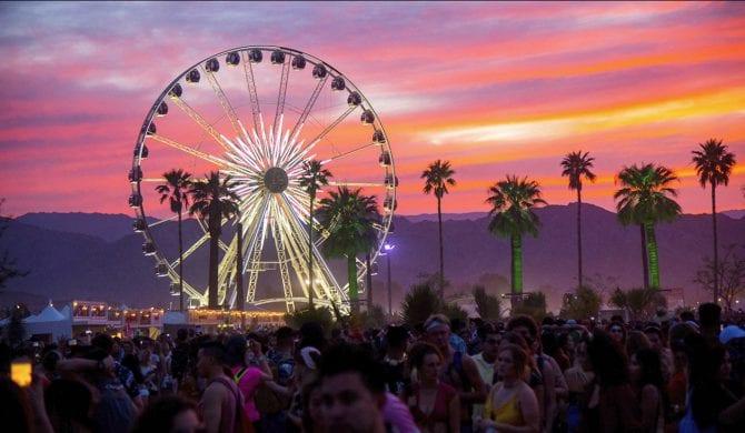 Pożar na festiwalu Coachella