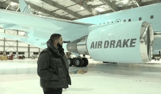 Drake kupił samolot za 100 milionów dolarów