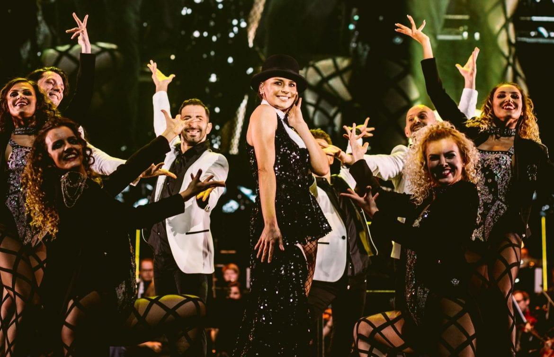 Natasza Urbańska na zdjęciach z Festiwalu Muzyki Filmowej