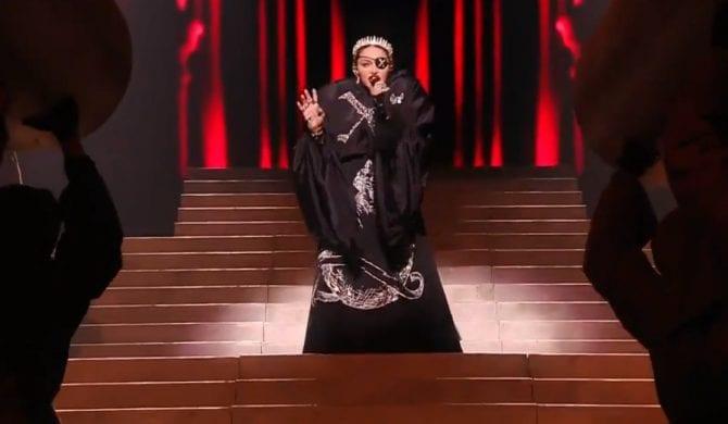 Koszmarny występ Madonny w finale Eurowizji