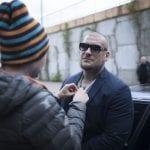 """Popek w obsadzie serialu """"Policjantki i policjanci"""" – zdjęcia z planu"""