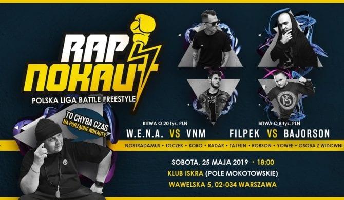 Rap Nokaut – już dziś bitwa VNMa z W.E.N.Ą.