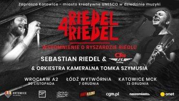 Riedel 4 Riedel – ruszyła sprzedaż biletów na trzy wyjątkowe wydarzenia muzyczne