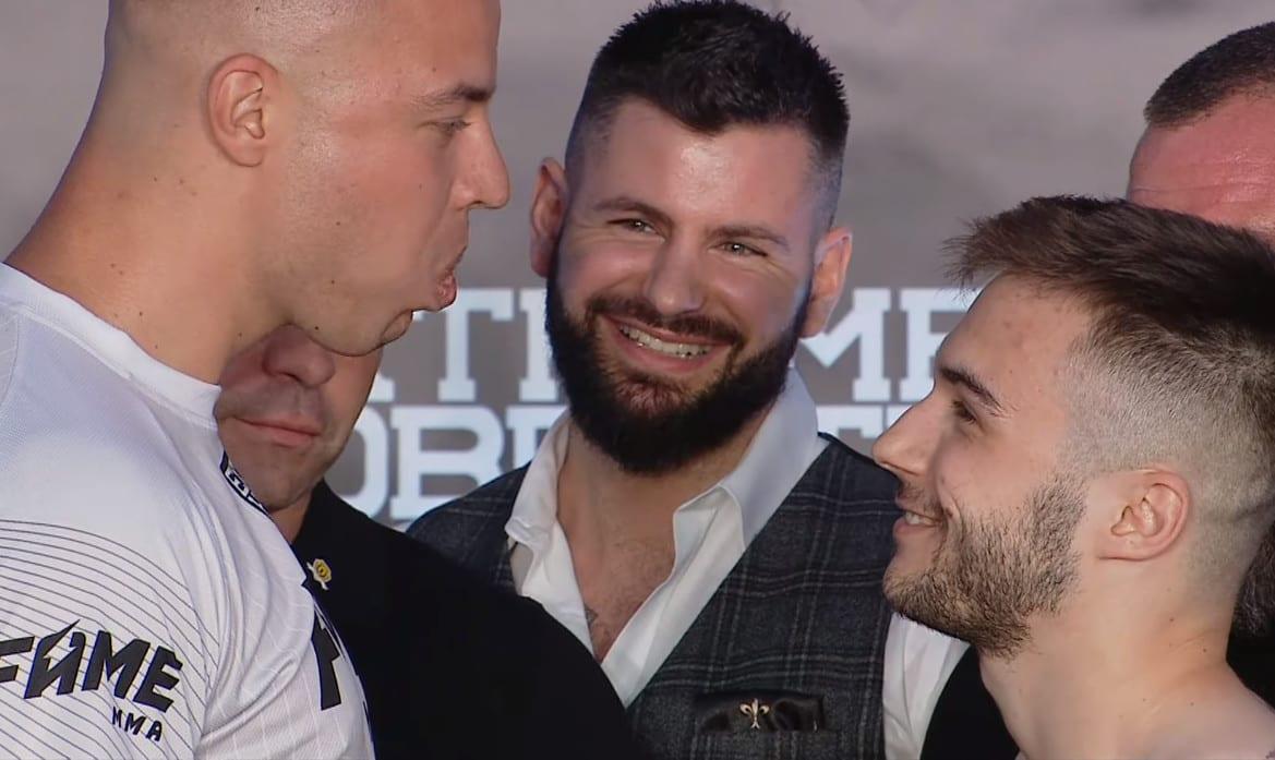 Fame MMA – znamy wagę Tomba i Filipka. Gigantyczna różnica!