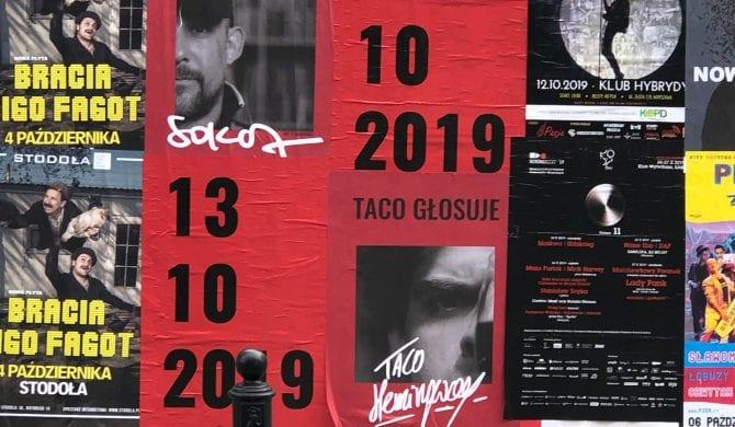 Sokół, Peja, Taco Hemingway, Żabson i inni – raperzy zachęcają do głosowania