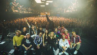 Albo Inaczej na zdjęciach z koncertu w Gdańsku