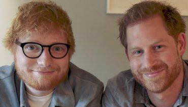 Ed Sheeran i książę Harry wspierają osoby borykające się z problemami psychicznymi