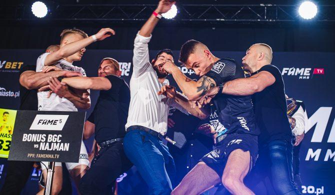 Produkcja gali Fame MMA zablokowana niemal w ostatniej chwili