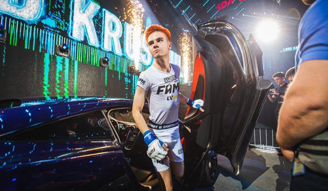 Fame MMA: Kruszwil wszedł do ringu przy kawałku polskiego rapera. Będzie pozew?