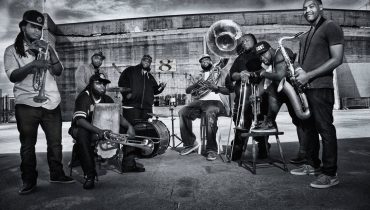 The Hot 8 Brass Band na koncercie w Polsce