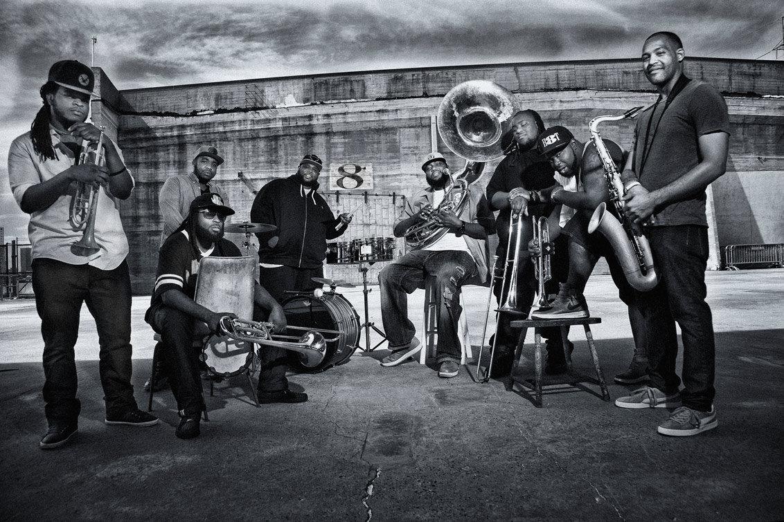 The Hot 8 Brass Band na koncercie w Polsce