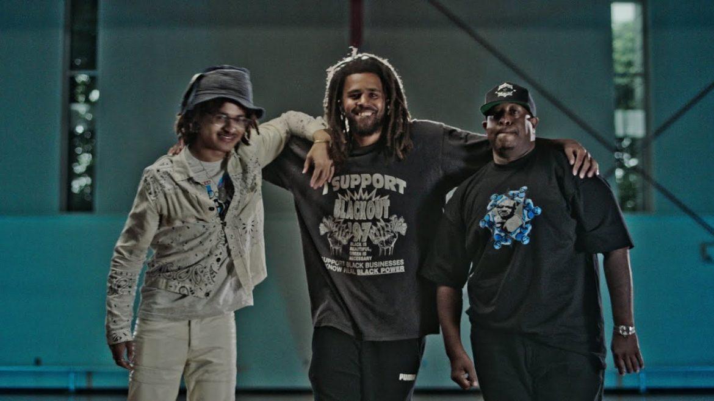J. Cole w nowym klipie Gang Starr