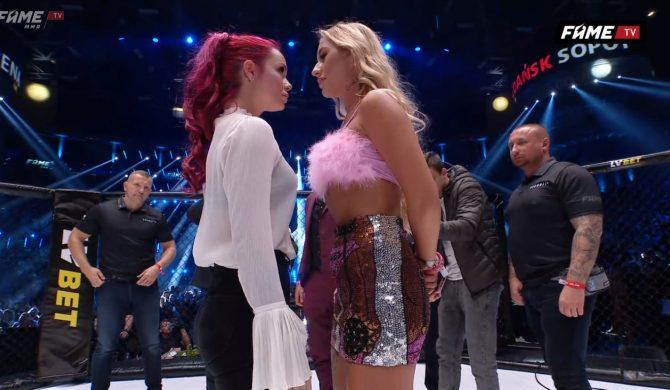 Zusje (Luxuria) vs Marta Linkiewicz na Fame MMA