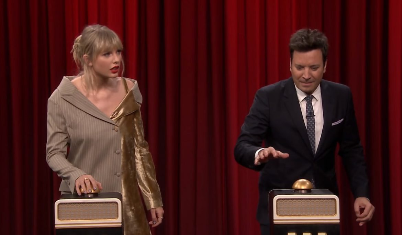 Taylor Swift nie poznała własnej piosenki w programie Jimmy'ego Fallona